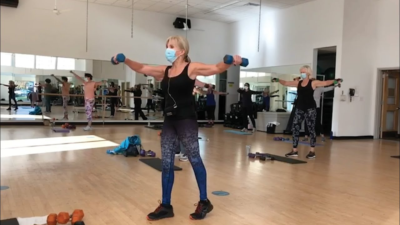 Our Group Fitness Experience - YouTube