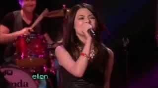 [HD] Miranda Cosgrove ft Greyson Chance - Dancing Crazy (The Ellen DeGeneres Show ).mp4