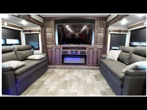 Best 5th Wheel For Full Time Living 2021 2020 KZ RV Durango Gold 386FLF   Front Living Full Time Fifth