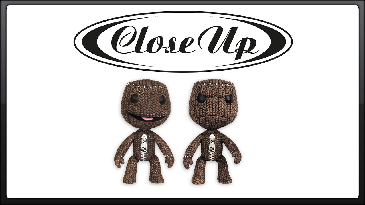 Little Big Planet Figurenset Sackboy Lächelnd & Böse | CloseUp - YouTube