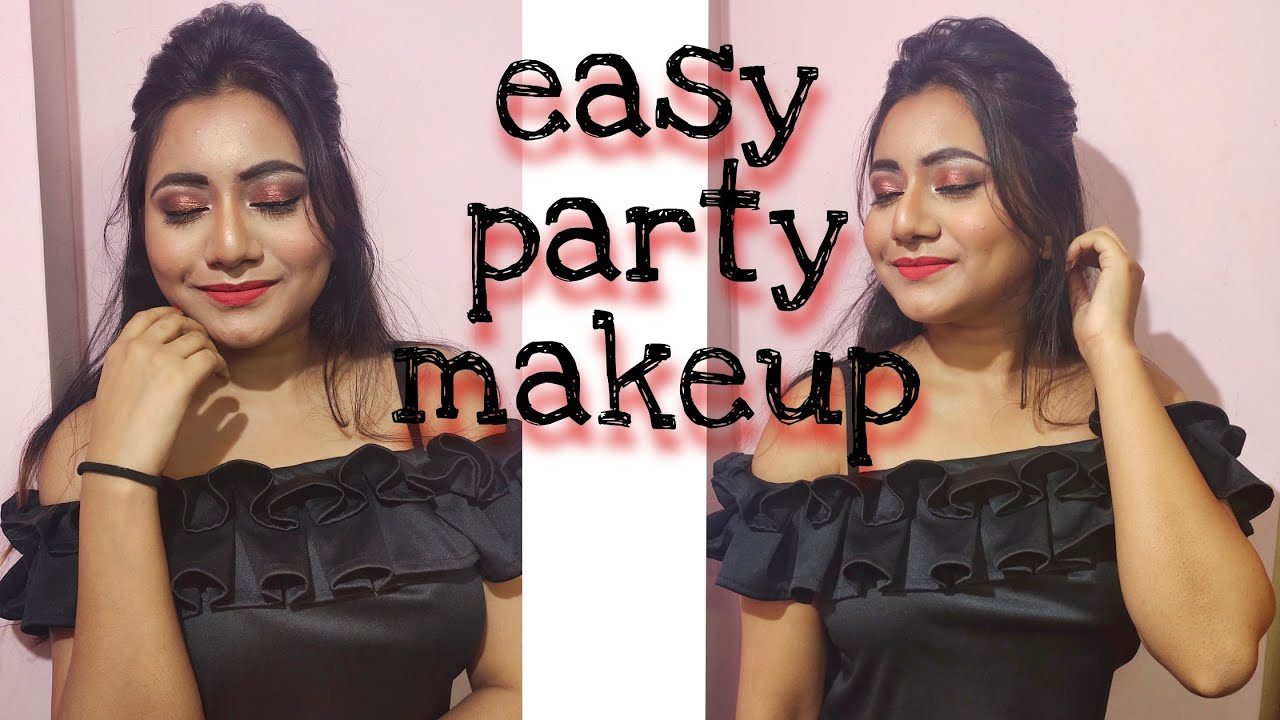how to apply party makeup step by step video