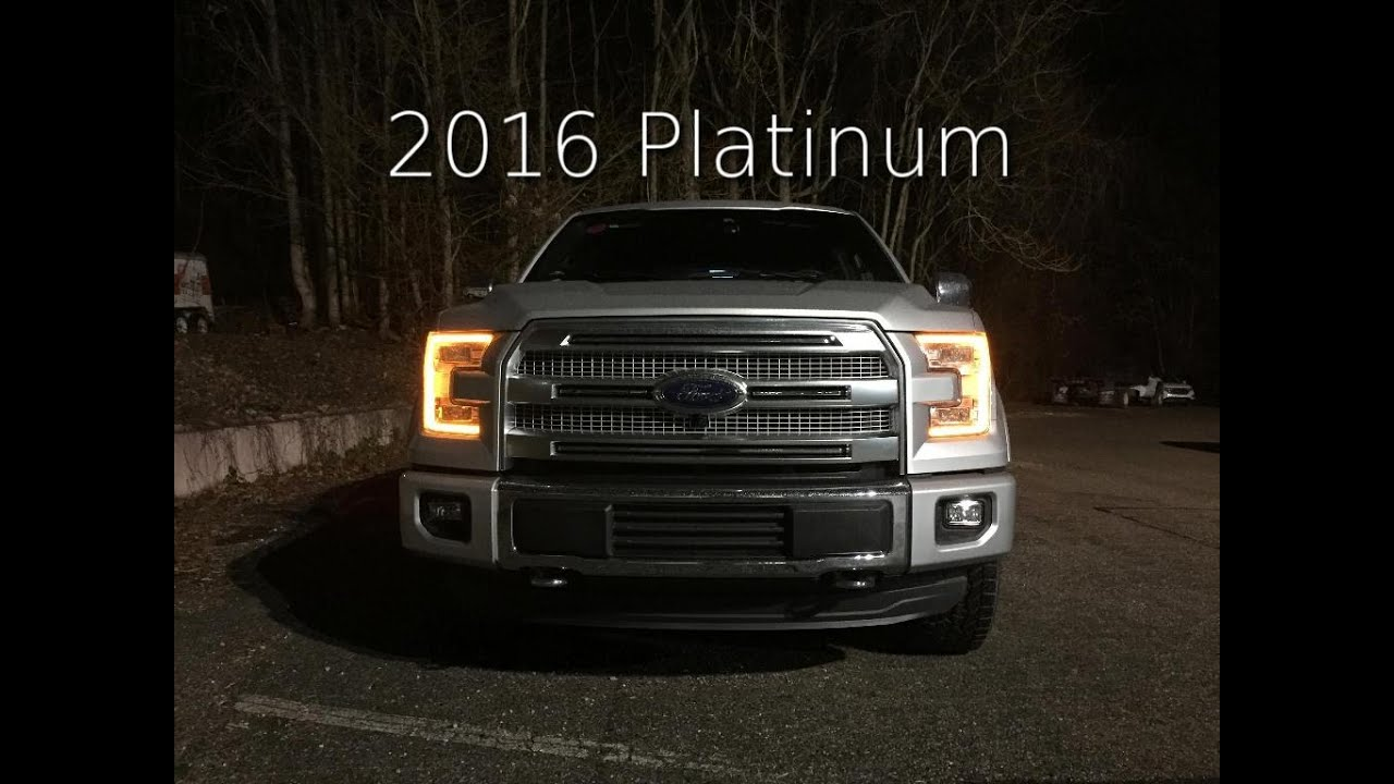 2016 ford f 150 platinum review the businessman 39 s truck youtube. Black Bedroom Furniture Sets. Home Design Ideas
