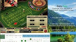 Baby App | #3 Casino Club Deposit 300 EUR | Challenge from 300 to 2400 EUR | Online Roulette systems