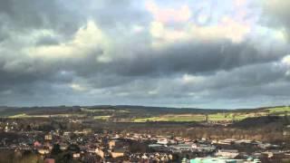 Hexham weather time-lapse