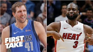 Dirk Nowitzki vs. Dwyane Wade: Who had the better career? | First Take