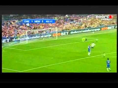 Chelsea 3 v 4 NUFC  (Goals)