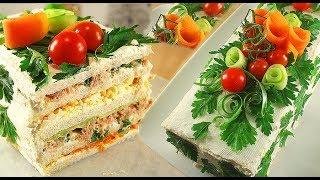 Бутербродный Торт Сэндвич / Без Выпечки