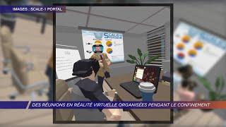 Yvelines | Des réunions en réalité virtuelle organisées pendant le confinement