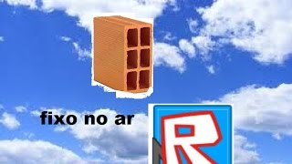 How to fix a block in the air in ROBLOX Studio