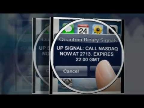 Quantum binary signals autotrader