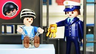 Kuno wird verhaftet?! Playmobil Polizei Film - KARLCHEN KNACK #221