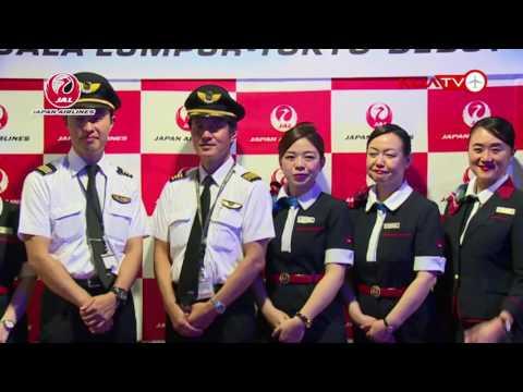 EVENT MAHB - JAL 787 Aircraft