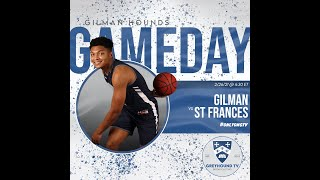 Varsity Basketball vs. St. Frances