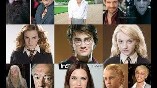 Актеры «Гарри Поттера»: тогда и сейчас.Как изменились актеры  с начала съёмок.