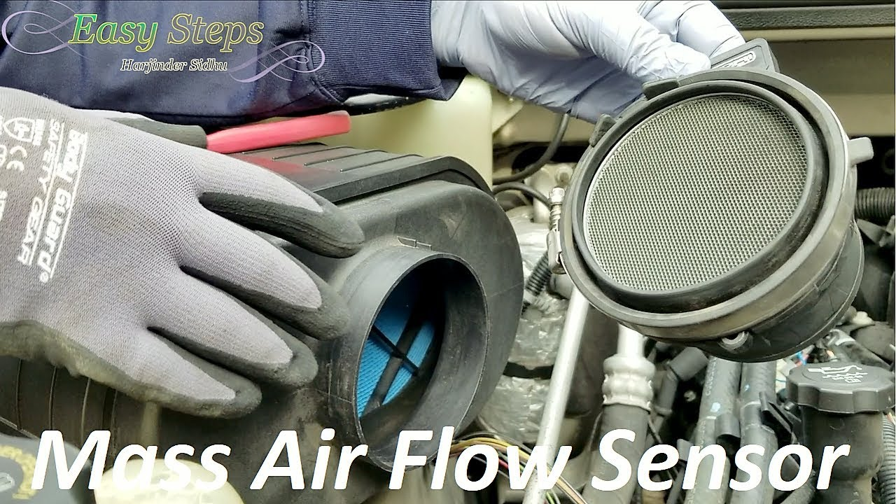 How To Clean Replace Mass Air Flow Sensor On Hummer Delphi Gm Wiring Af10043