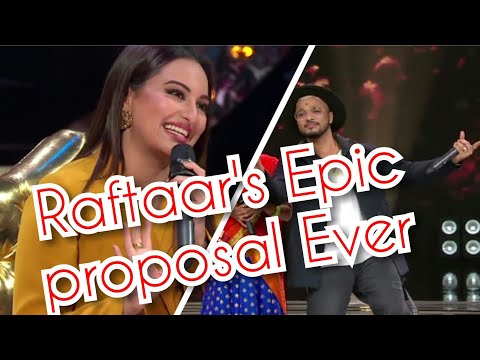 Raftaar's Epic  proposal to sonakshi sinha|| Rising 🌟 star season 2||