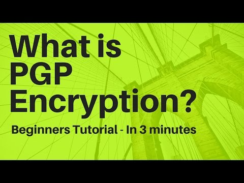 What is PGP Encryption? In 3 Minutes