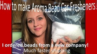 NEW AROMA BEAD VIDEO! Ordering from a new company - Answering FAQ