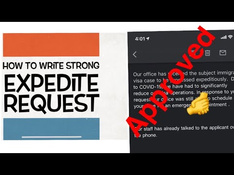 Guide to NVC EXPEDITE REQUEST!Discussing APPROVED SAMPLE LETTER, PETITIONER'S ROLE & TIMELINE Part1
