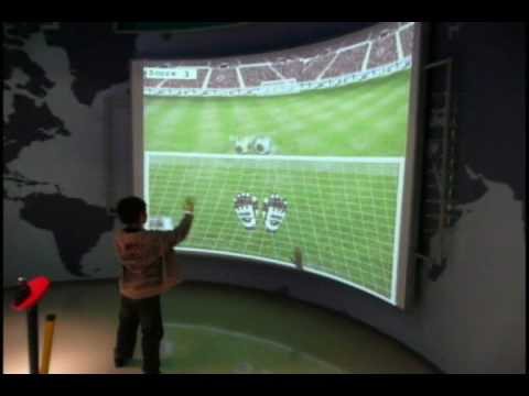 Interactive Wall Projection System Installation By