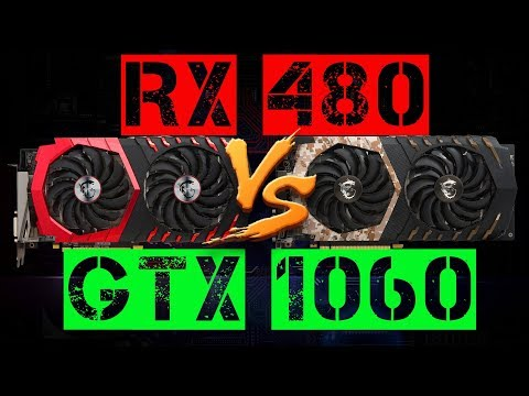 RX 480 VS GTX 1060