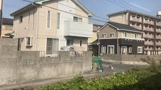 山陽本線(普通)車窓 下関→新山口/ 115系3000 下関1030発(岩国行)
