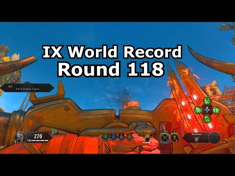 IX World Record Round 118 PS4 (normal Mode)