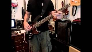 Flagpole Sitta - Harvey Danger - Bass Cover - Notes clearly visible