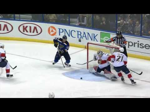 Florida Panthers at the St. Louis Blues - February 20, 2017 | Game Highlights | NHL 2016/17