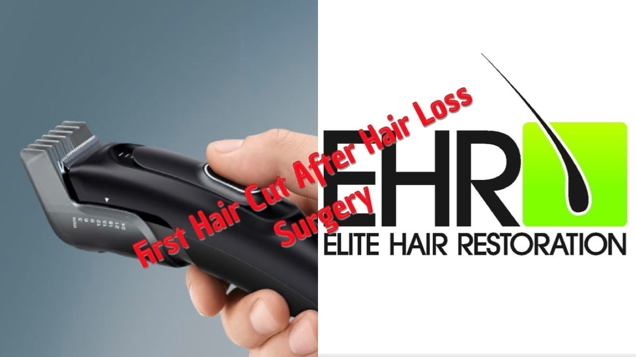Elite Hair Restoration First Hair Cut After Hair Transplant Youtube