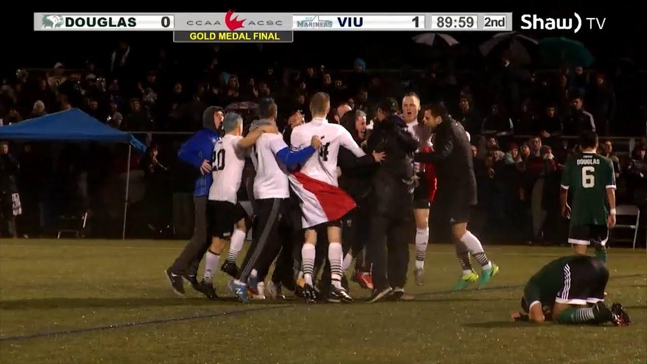 VIU Mens Soccer - Beyond the Pitch 2017 by Stephen Ewashko