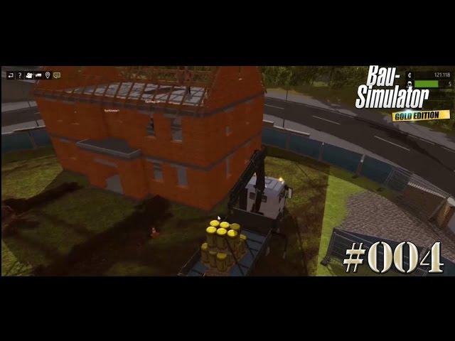 Let's Play Bau-Simulator 2015 | Großes Team an der Villa | Folge #004