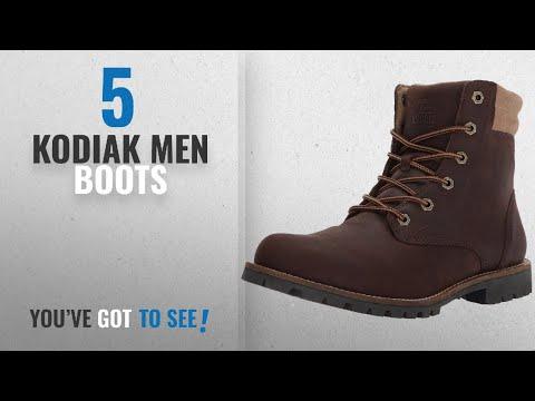 Top 10 Kodiak Men Boots [ Winter 2018 ]: Kodiak Men's Magog Hiking Boot, Brown, 8.5 M US