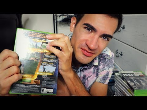 My Brother's Huge Video Game Collection (ASMR)