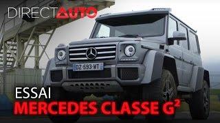 Essai - MERCEDES CLASSE G² - La plus dingue des SUV