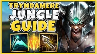*GUIDE* #1 TRYNDAMERE TEACHES YOU HOW TO JUNGLE PERFECTLY (COACHING)- League of Legends
