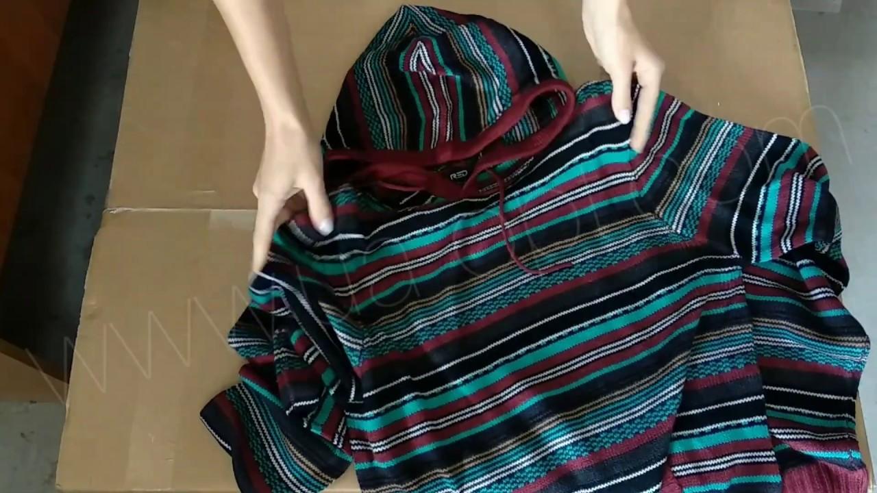 thumbnail video Мужские свитера оптом сток 4,9 €/шт. лот #147