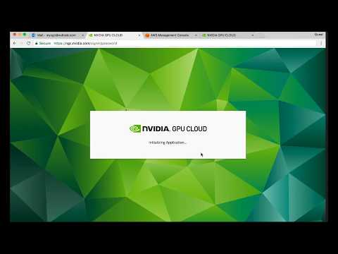 NVIDIA GPU Cloud With AWS, Step By Step