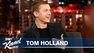 How Tom Holland Drunkenly Saved SpiderMan