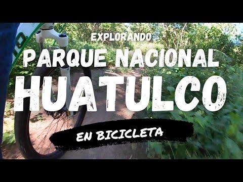 Explorando el PARQUE NACIONAL HUATULCO en BICICLETA