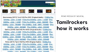 TamilRockers explained, How it works