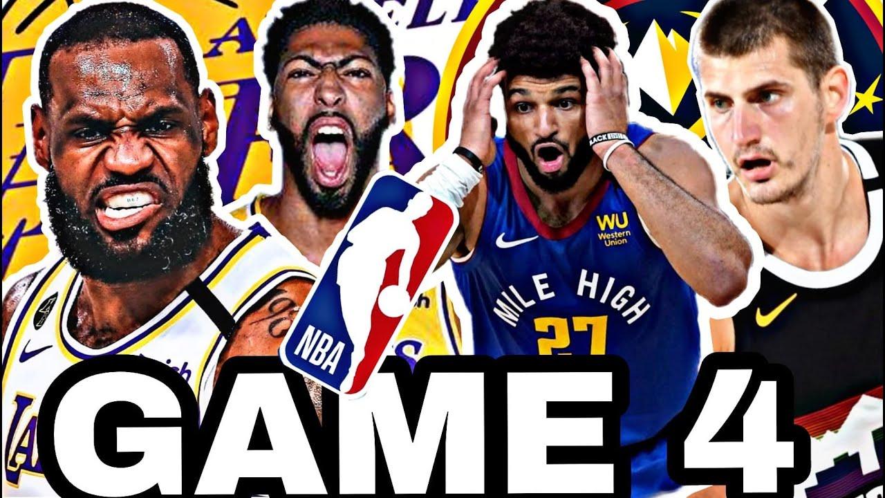 🟡LOS ÁNGELES LAKERS vs DENVER NUGGETS GAME 4 🔥 NBA PLAYOFFS 2020