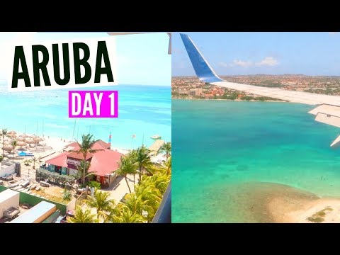 MY FIRST TIME IN ARUBA! | DAY 1 VLOG
