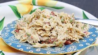Deli Style Tuna Pasta Salad