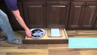 Medallion Cabinetry: Toe-kick Drawer, Kitchen Storage Part 11
