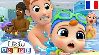 Allons Apprendre À Nager avec Bébé - Comptines pour Bébé   Little Angel Français