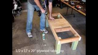 Backyard Beekeeping Part 15(s2:e1): Building A Two Hive Stand