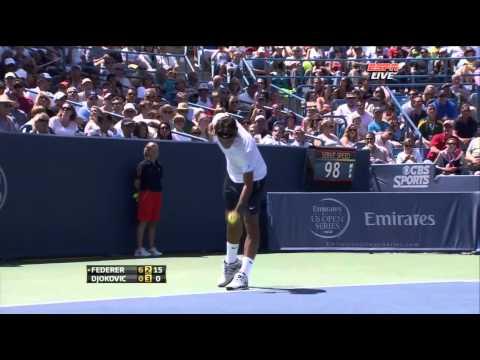 Federer vs Djokovic Cincinnati Final 2012 Full Match HD !!!
