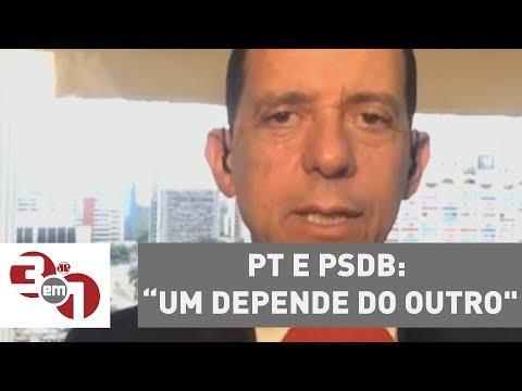 """José Maria Trindade: """"PT e PSDB: um depende do outro"""""""