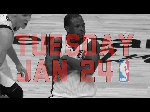 NBA Daily Show: Jan. 24 - The Starters